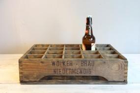 Alte Bierkiste aus Niedermendig -EINZELSTÜCK_
