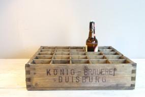 Historischen Bierkiste