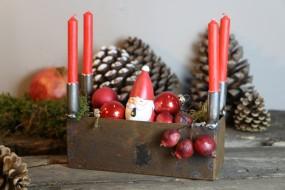 Adventskranz-Kiste