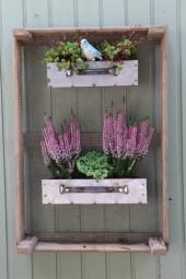 Blumenzwiebelkiste mit 2 Schubladen