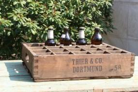 Alte Bierkiste aus Dortmund