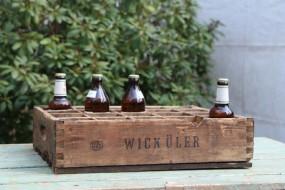 Alte Bierkiste aus Wuppertal