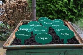 Pflanzenschilder-Set: 11 Stück
