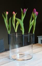 Windlichtclipper / Vase