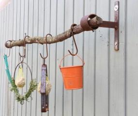 Fundholzträger - Wandhalter