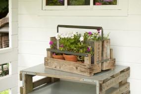 Pflanzen-, Flaschen- und Zeitungskorb