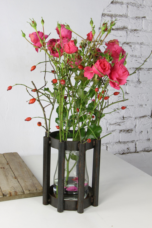 """Vase und Windlicht """"Leuchtturm Dornbusch"""""""